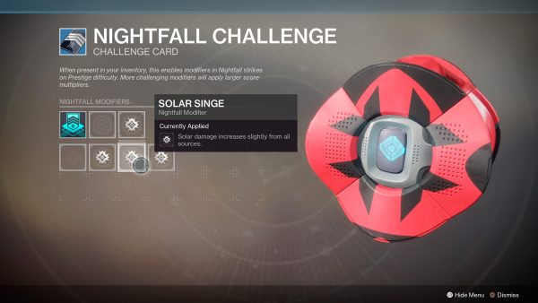 Destiny 2: Bungie explains how Nightfall scoring changes