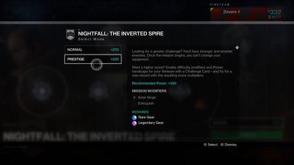 Destiny 2: Bungie explains how Nightfall scoring changes
