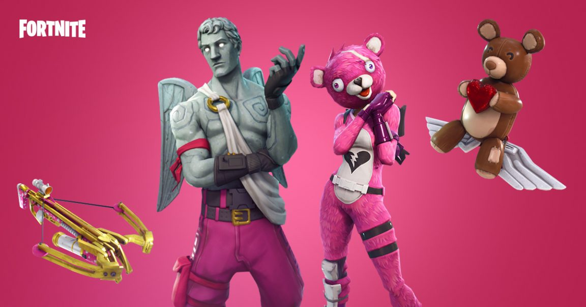 Fortnite is Getting An Unlimited Ammo Crossbow for Valentine's Day
