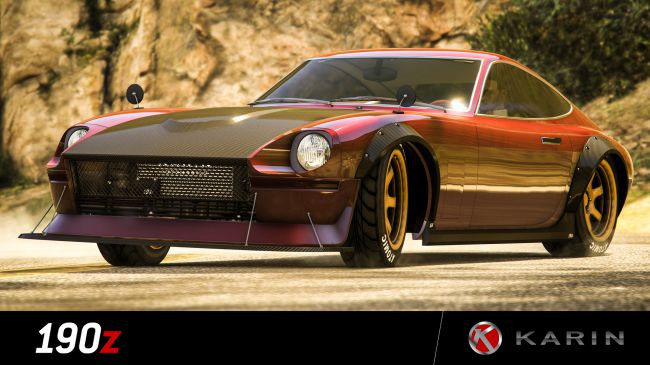 GTA Online's newest car looks like a 280Z, players can earn