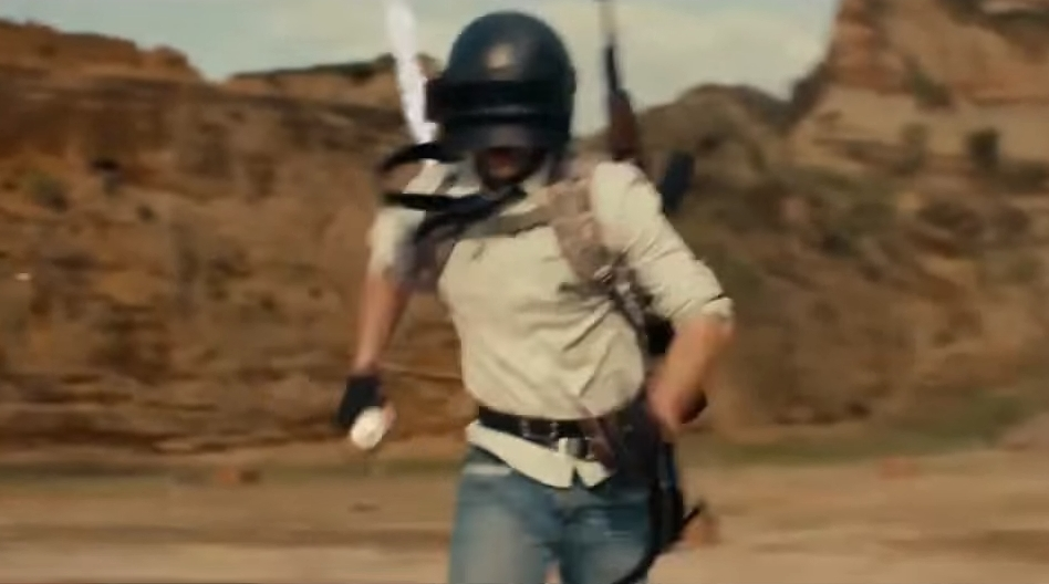 Since we never got a live-action trailer for PUBG in the