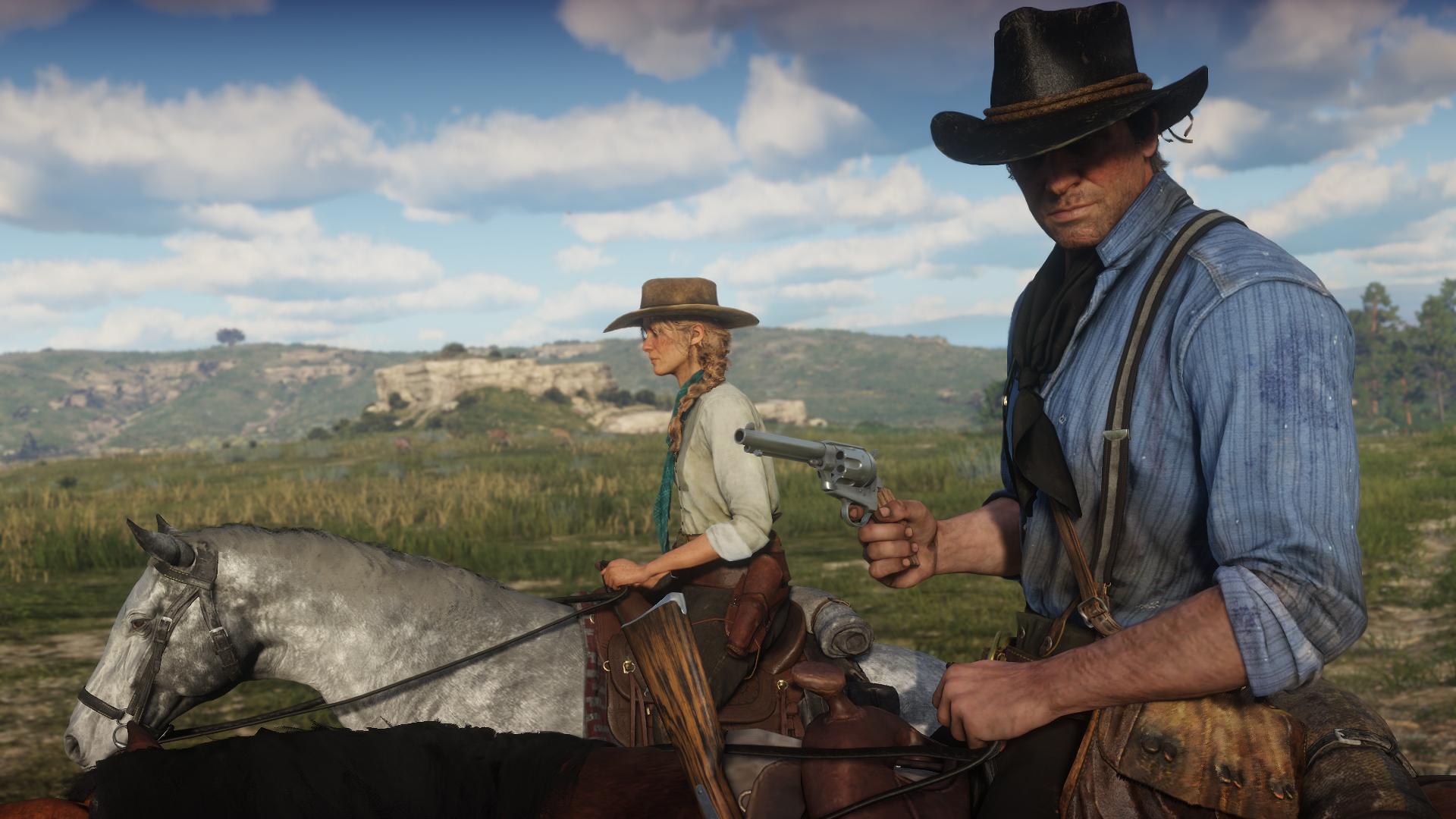 Big Red Dead Redemption 2 leak reveals single-player details, Battle