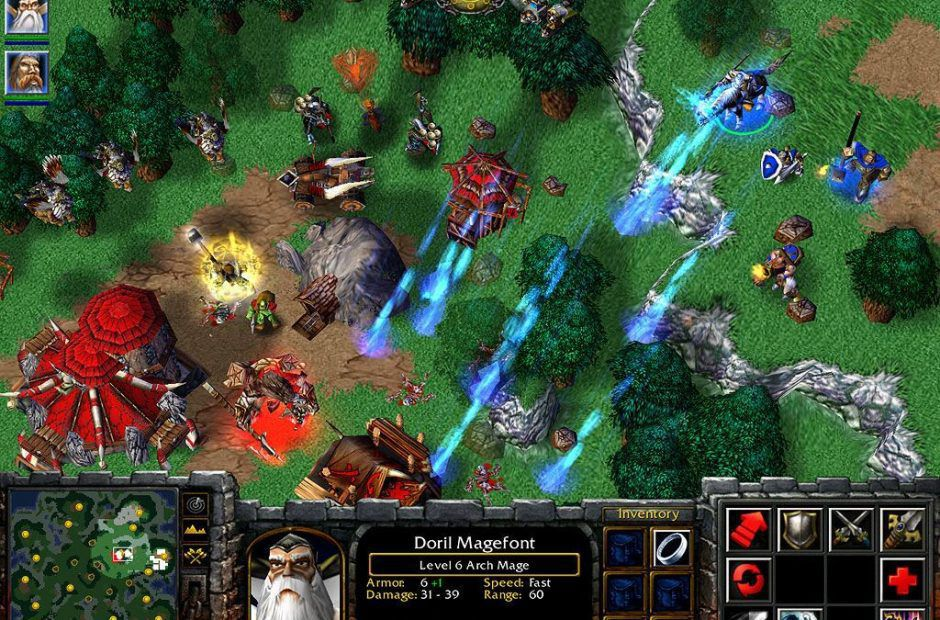 Warcraft 3 gets an update and tournament, and those remaster