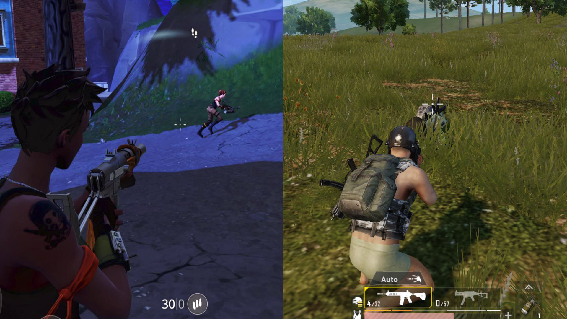 PUBG Mobile vs Fortnite Mobile - which portable battle royale is
