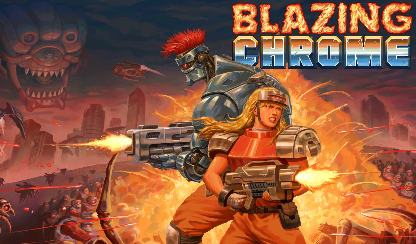 If you're not into the new Contra, why not have some of that Blazing Chrome? - VG247
