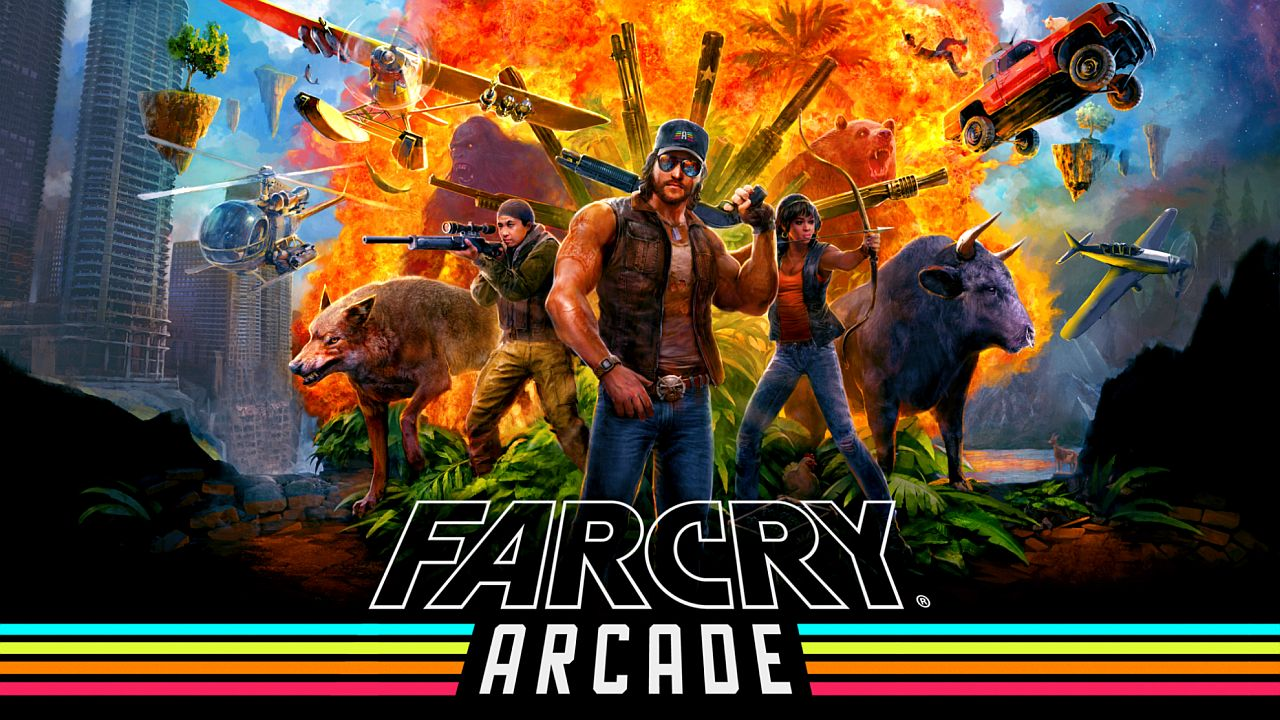 Check Out This Crazy Far Cry 5 Trailer For Arcade Mode Vg247