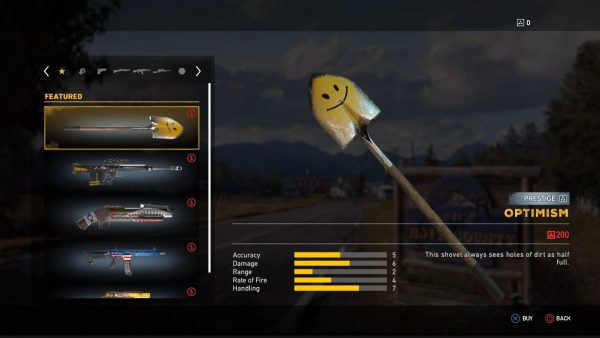 Far Cry 5: all Prestige weapons and vehicle skins and how
