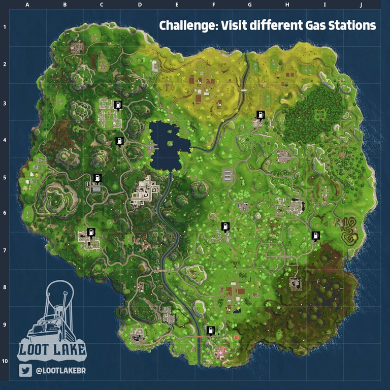 Find A Gas Station >> Fortnite All Gas Station Locations Vg247