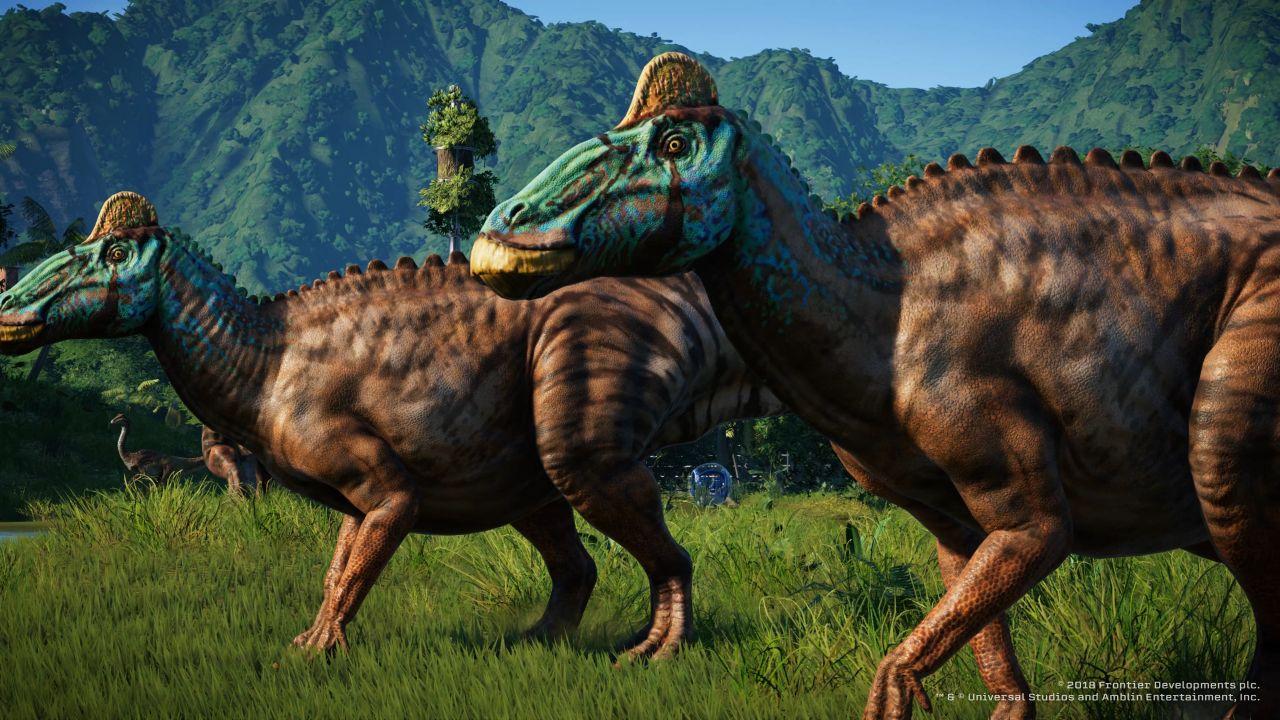 jurassic world evolution deluxe edition ps4 gamestop