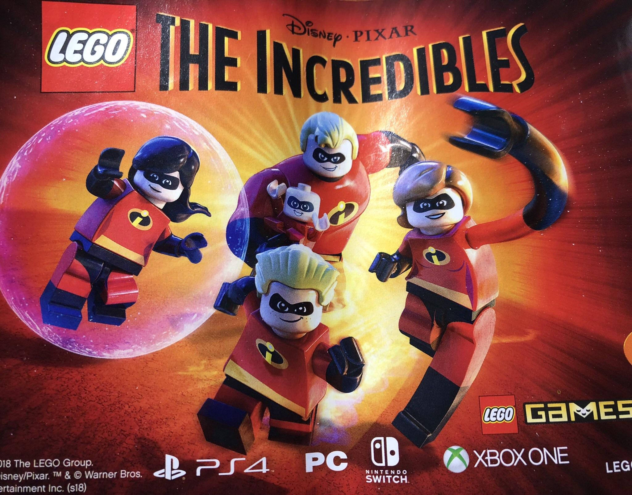 Advertisement Confirms LEGO The Incredibles Game is in Development