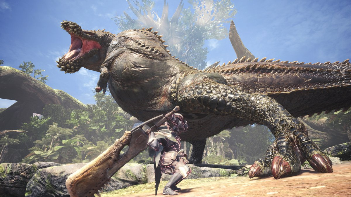 Monster Hunter World PC patch adds Deviljho, fixes remaining