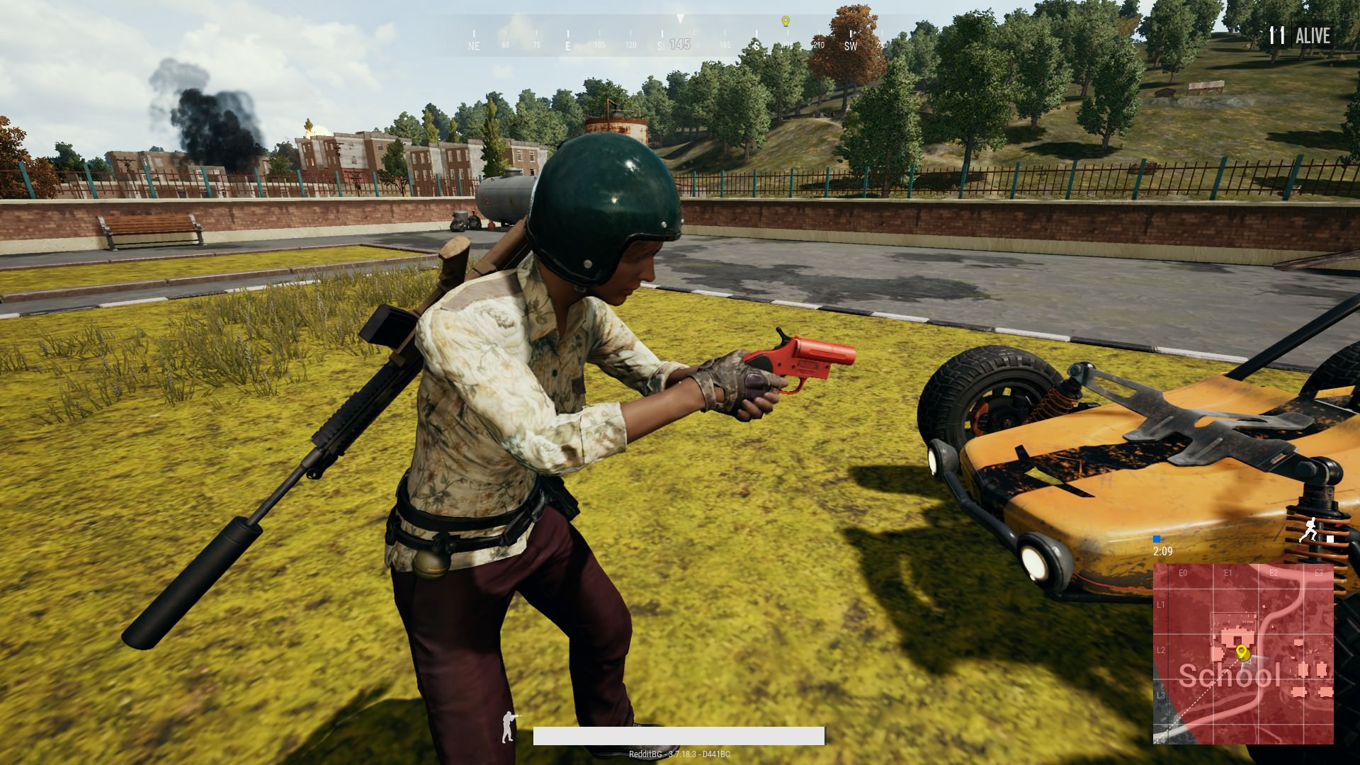 Pubg S Latest Update Stealth Added A Flare Gun Could This Be Our