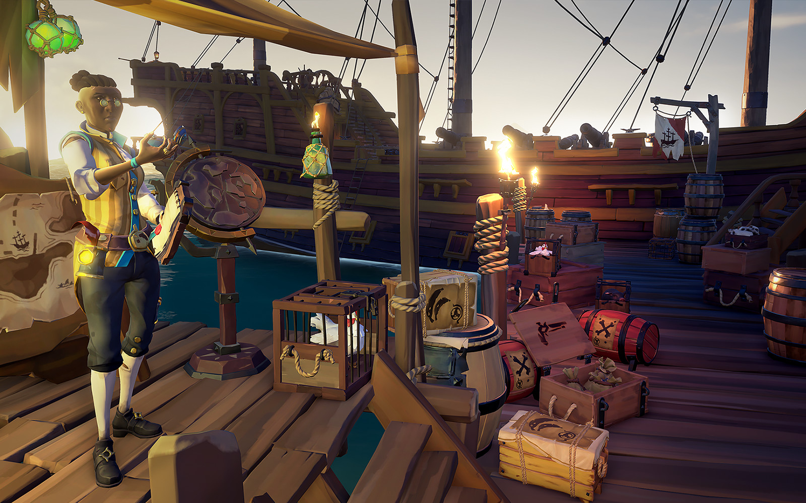 Sea of Thieves Kraken unveiled in new launch trailer release