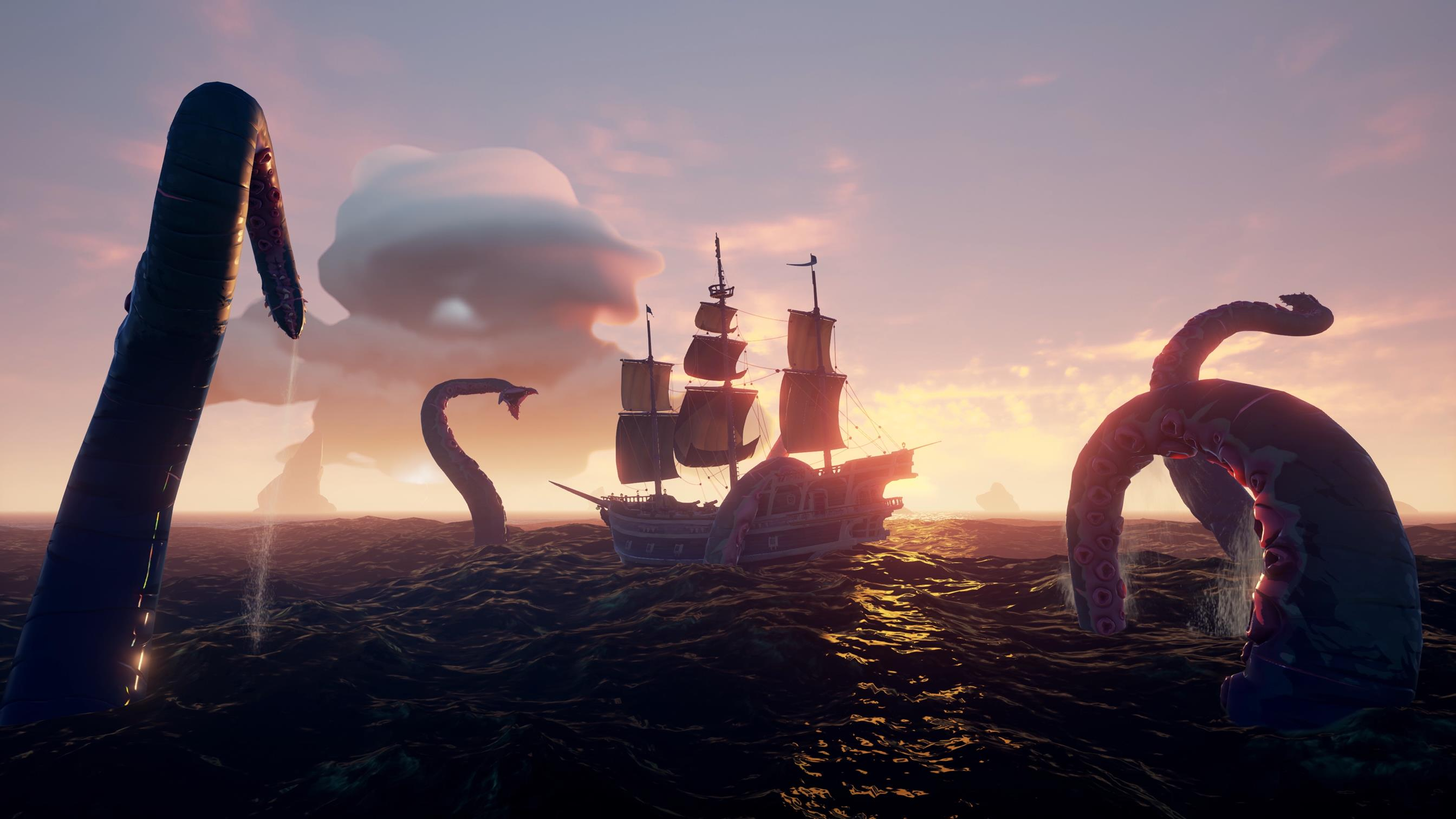 Sea of Thieves, Hunt: Showdown, and Warhammer: Chaosbane are free to play with Gold thumbnail