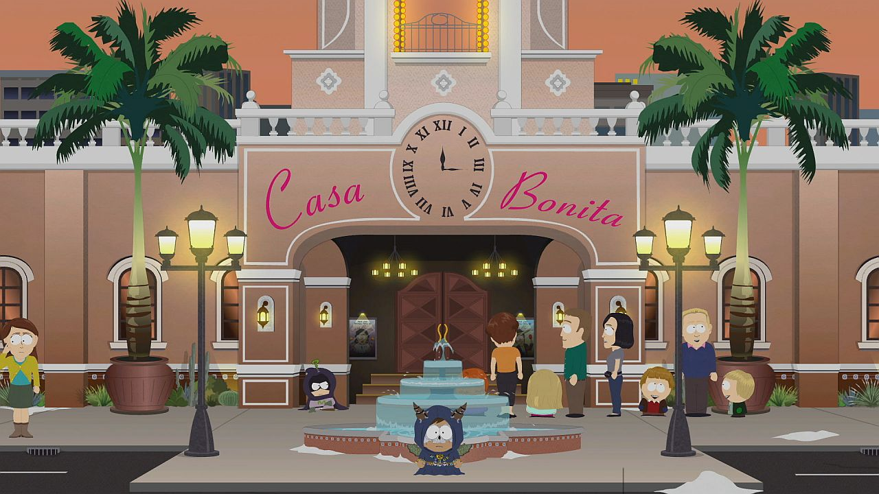 There's a Casa Bonita expansion pack for the South Park game