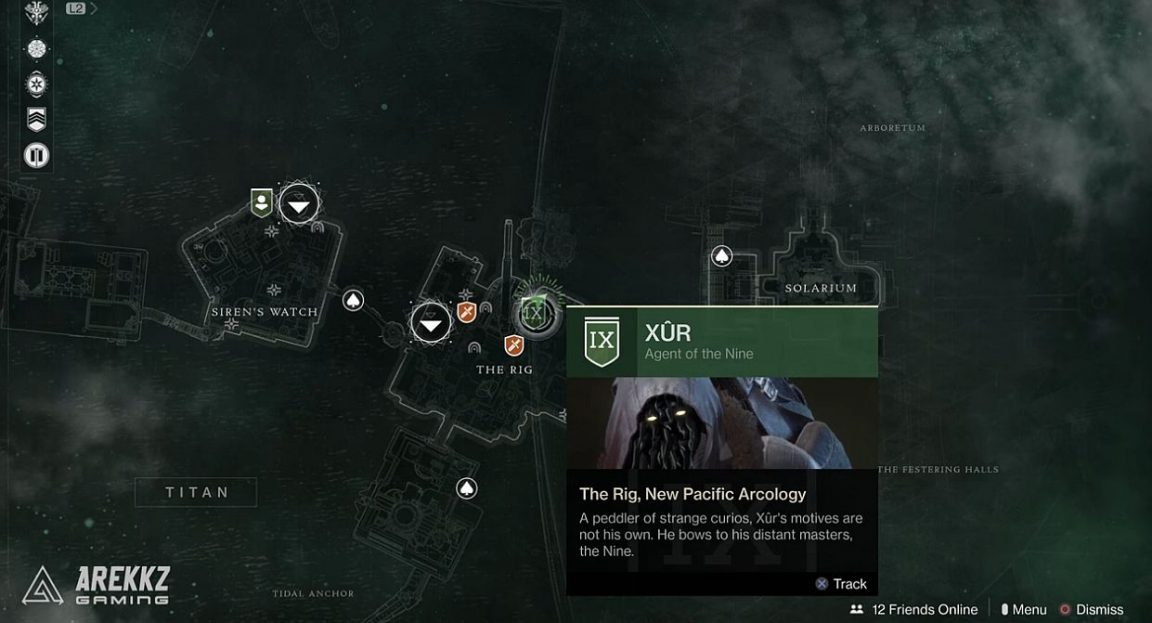 Destiny 2: Xur location and inventory, Invitations of the