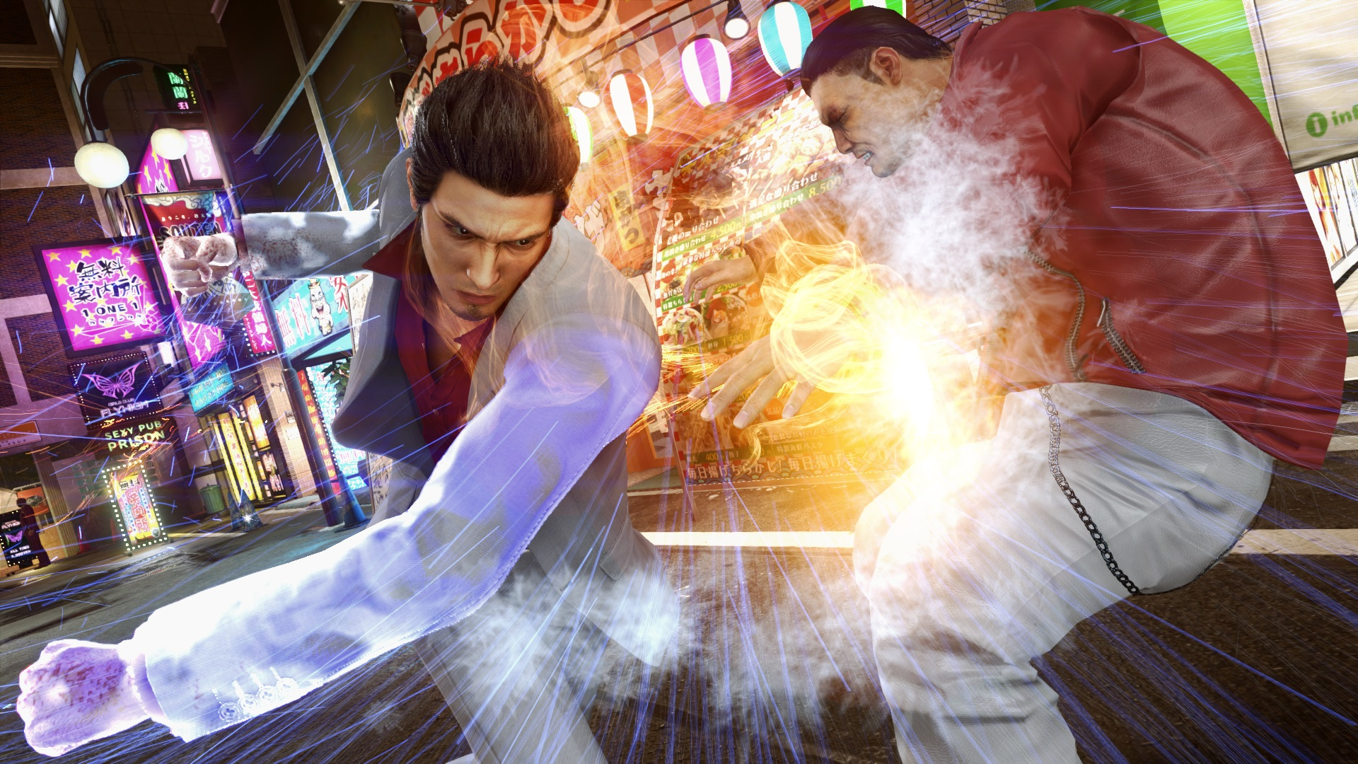 here s close to an hour of yakuza kiwami 2 footage from e3 2018