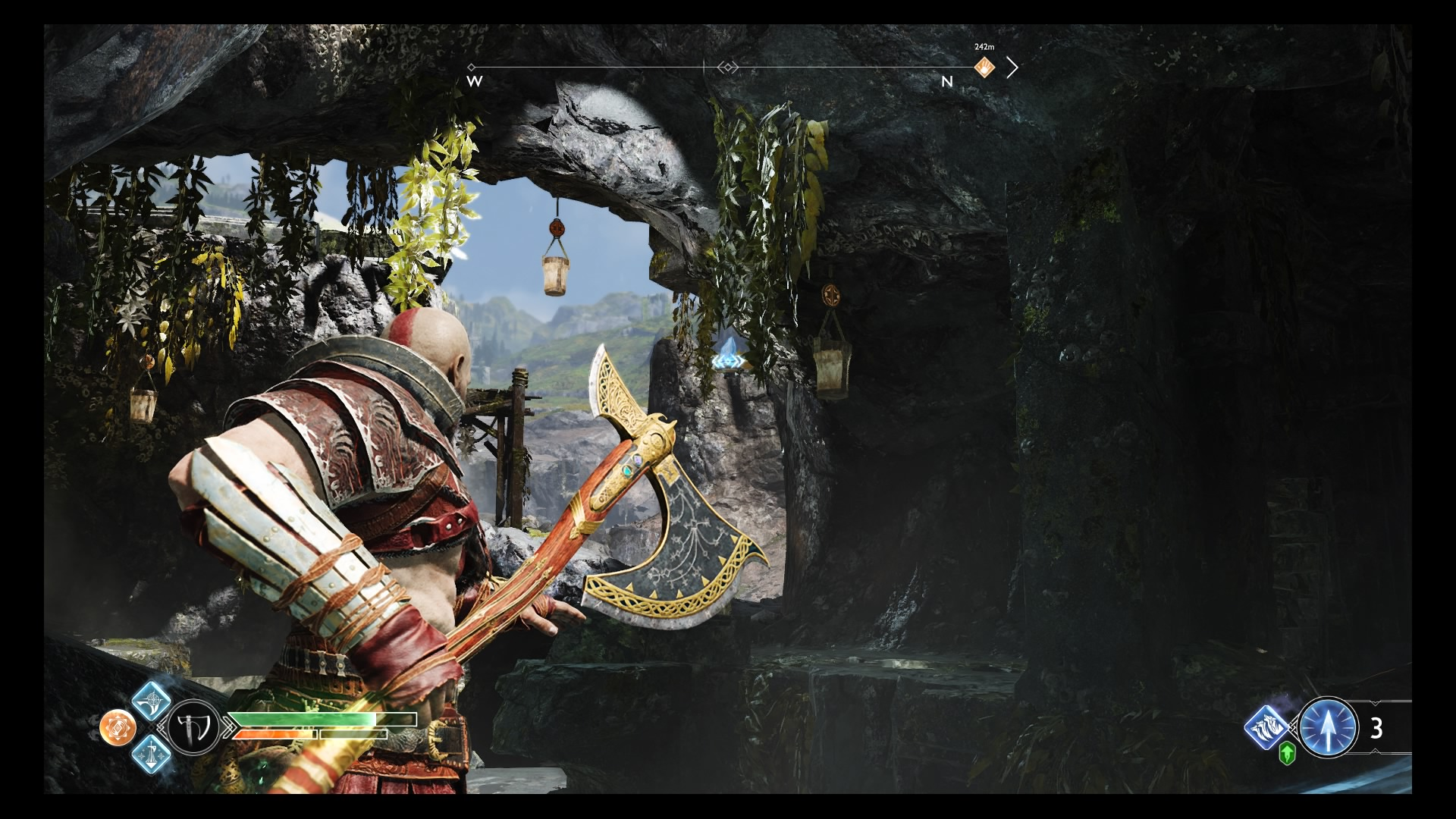 God of War Light Elf Outpost guide - How to open the chest