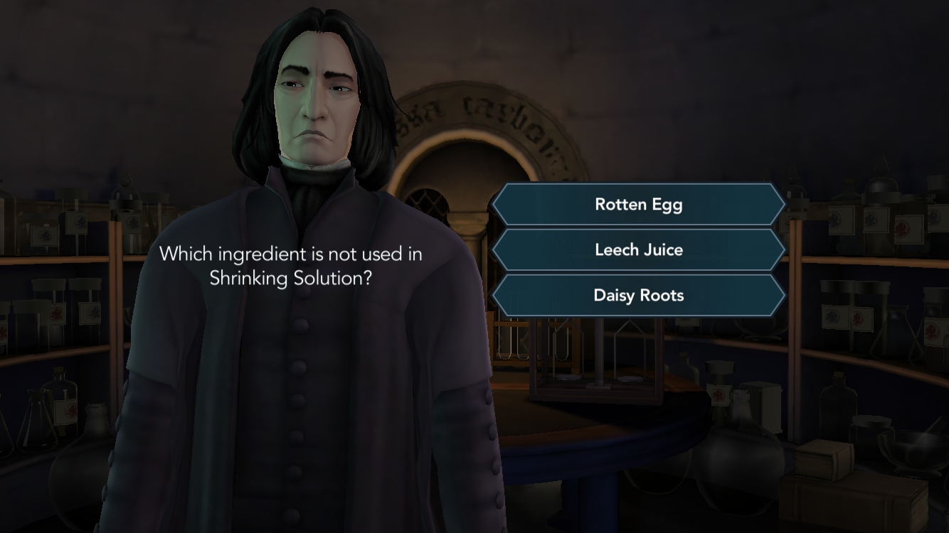 On mobile devices, was released Harry Potter: Hogwarts Mystery