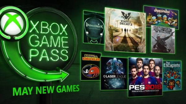 Microsoft Reveals New Titles Coming To Xbox Game Pass In May 2018