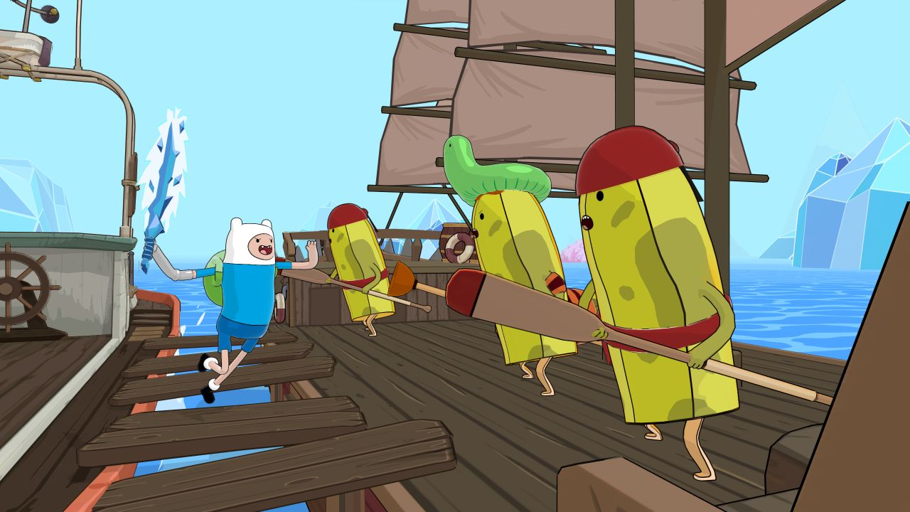Adventure Time: Pirates of the Enchiridion hits consoles and PC in July