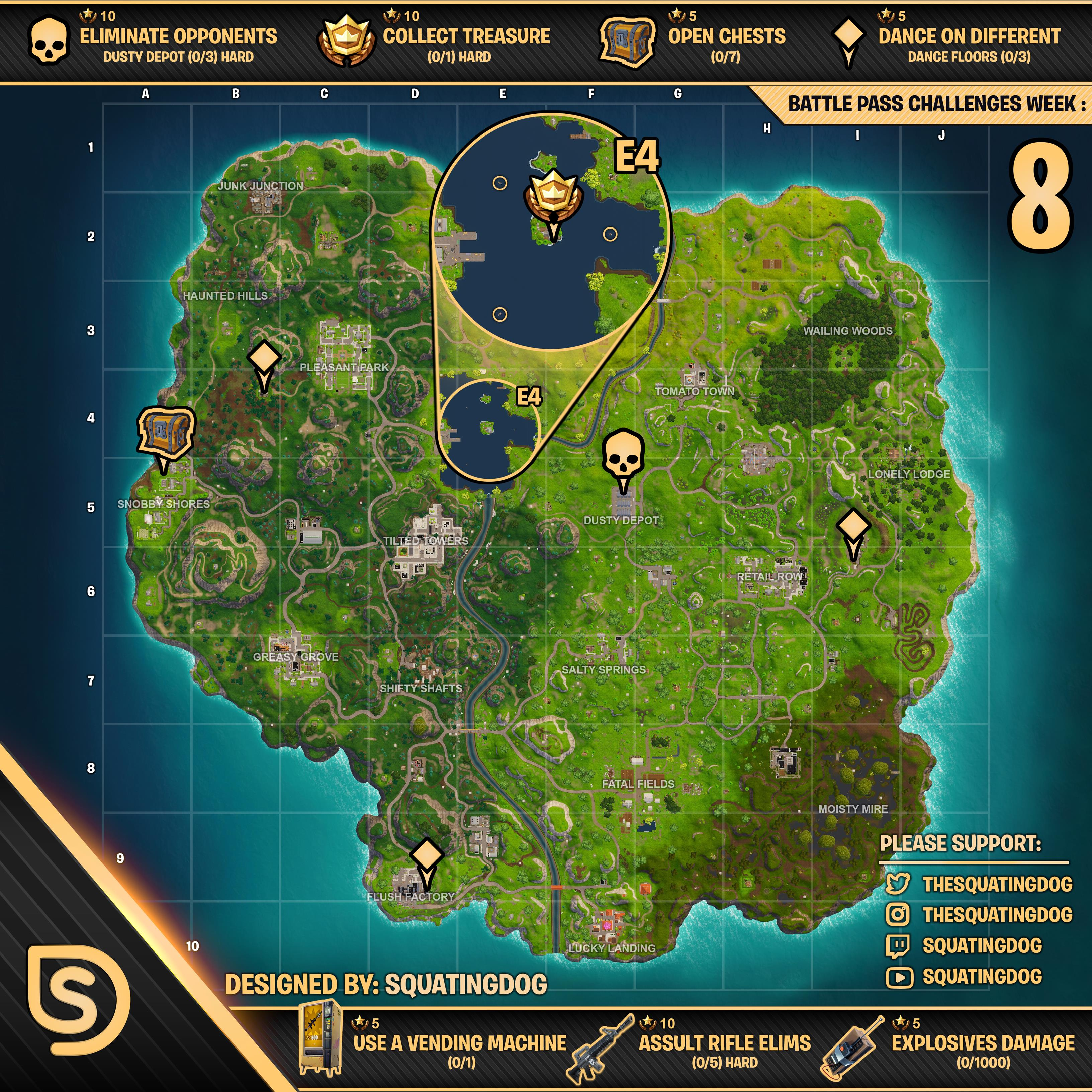 here s the map and ensure to open it in a brand new tab if you wish to zoom in as you please - fortnite 2019 map