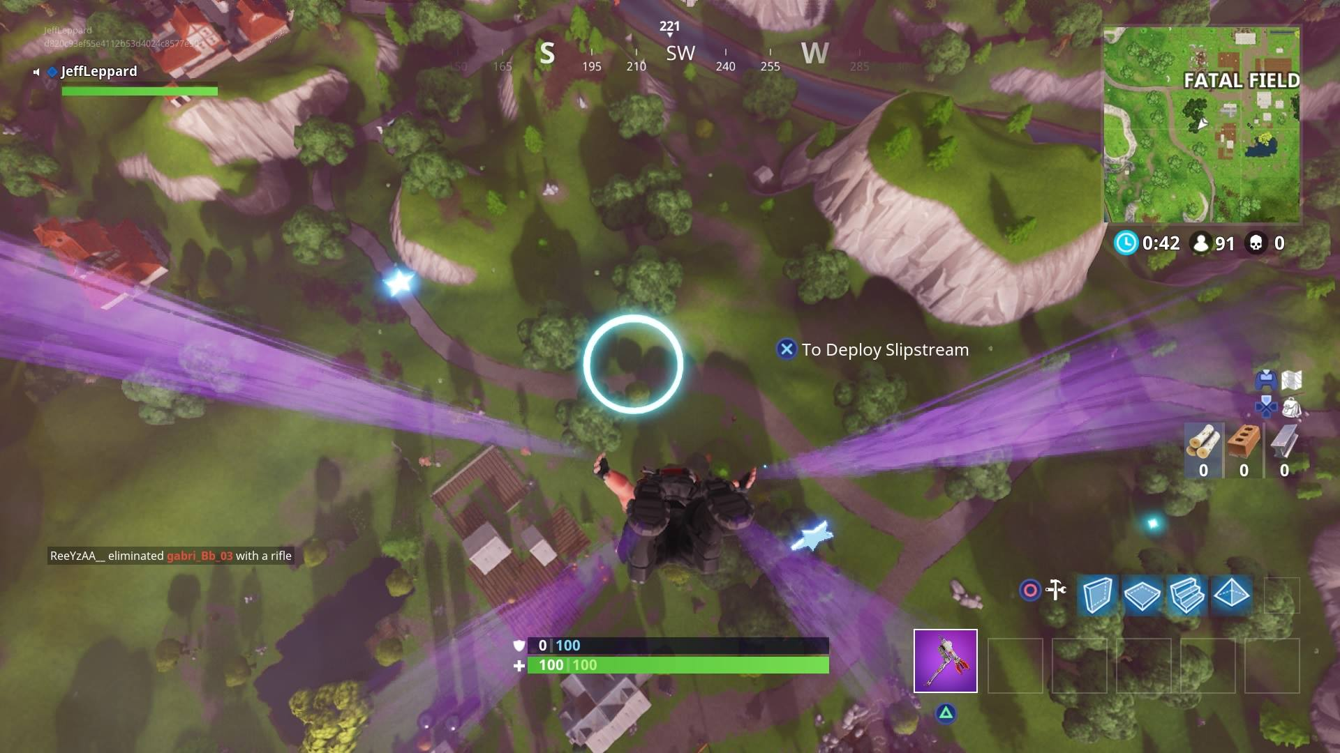 Fortnite How To Skydive Through Floating Rings Vg247