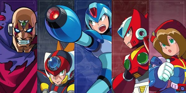 Mega Man X Legacy Collections 1 and 2 Coming this July