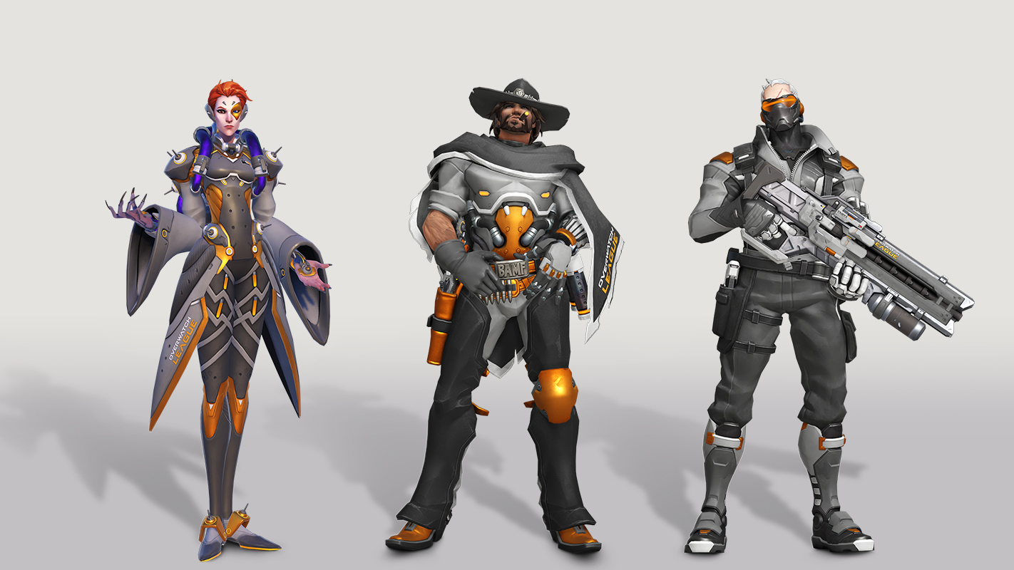 Overwatch League All-Access Pass has emotes, skins and ad