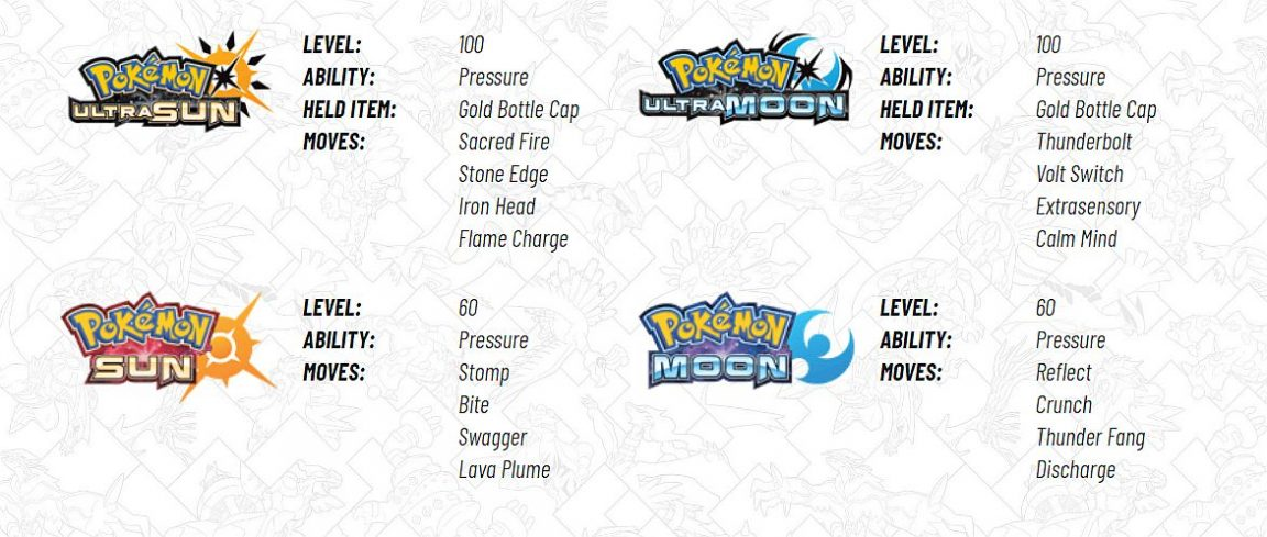 pokemon sun and moon mystery gift codes april 2018