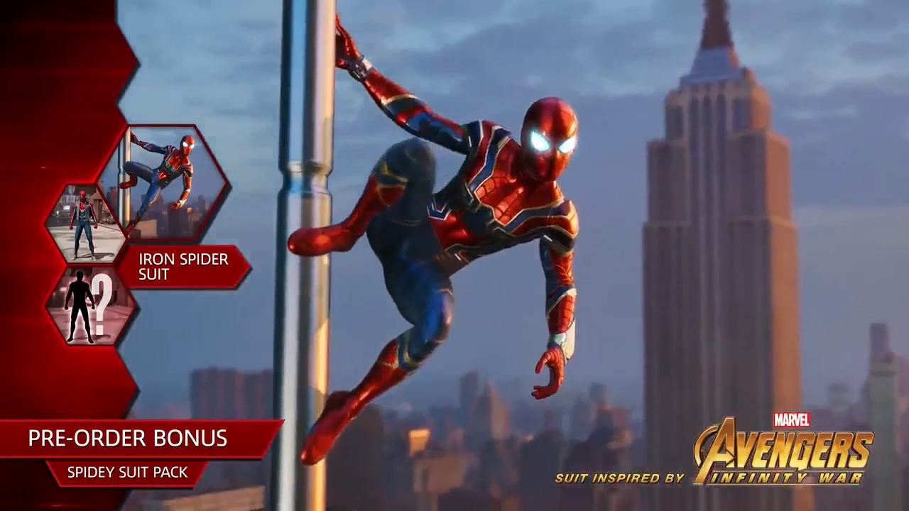Image result for spider man ps4 iron spider