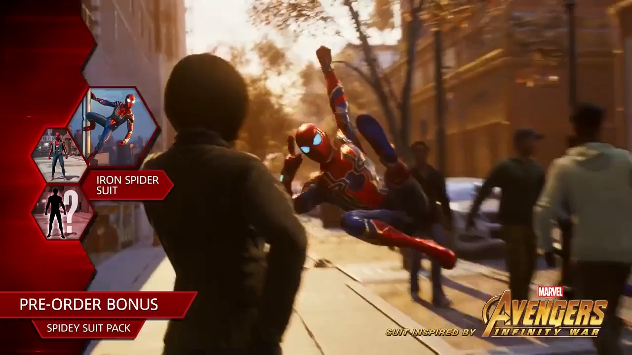 Avengers: Infinity War Iron Spider suit confirmed for Spider-Man PS4