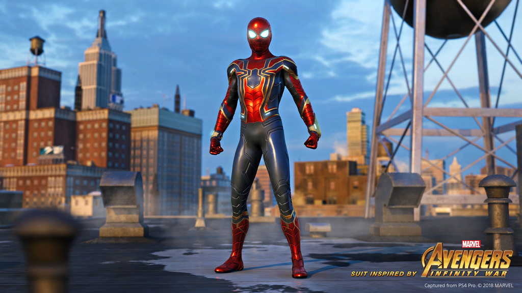 Pre-order Spider Man and gain early access to the Iron