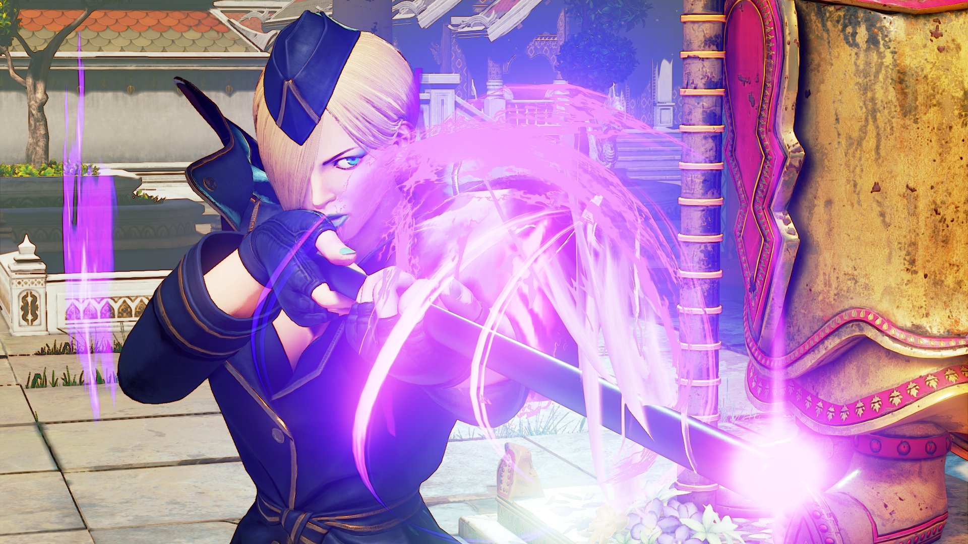 Capcom release trailer for Street Fighter V's classy combatant, Falke