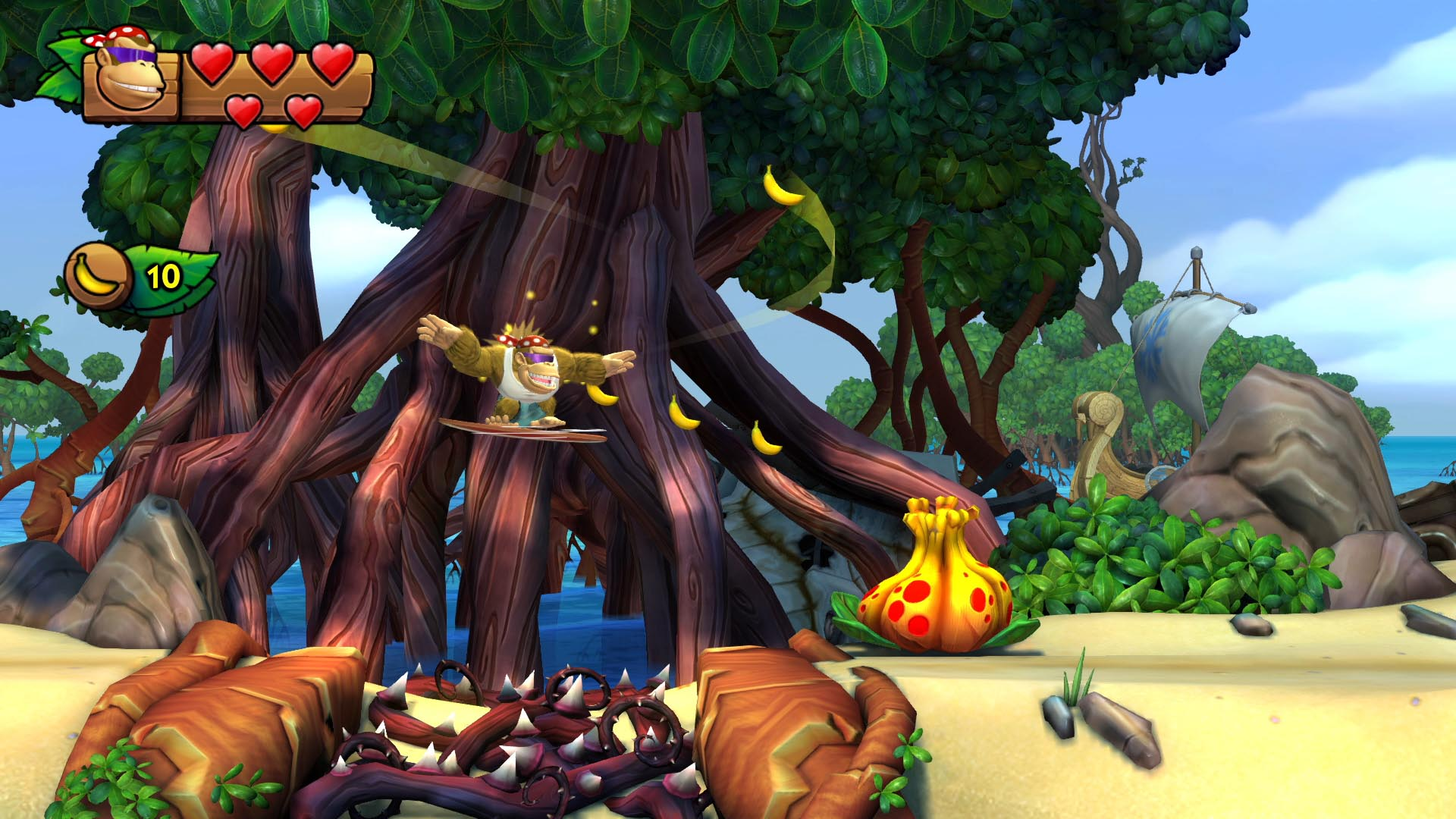 Donkey Kong Country Tropical Freeze Review A Solid Port Of A