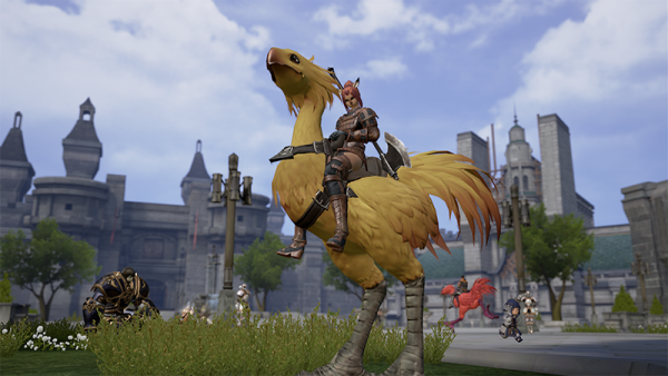 These Final Fantasy XI Mobile Screenshots Look Promising