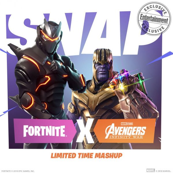 Thanos Is Headed To Fortnite For Avengers Infinity War Crossover Vg247