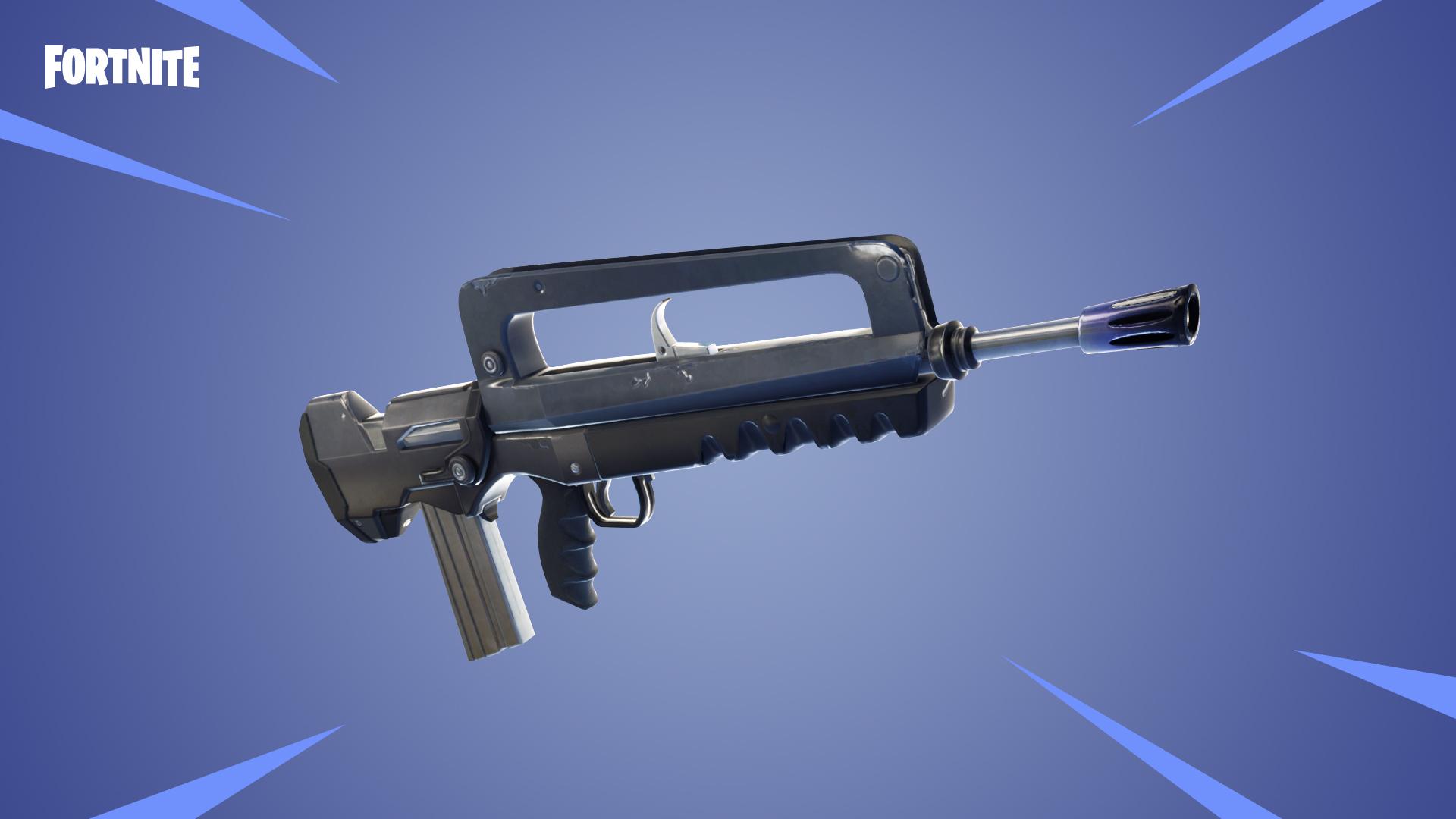 Fortnite 4 2 patch adds Burst Assault Rifles, health