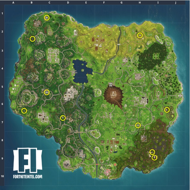Fortnite Where To Dance In Front Of 7 Different Film Cameras Vg247