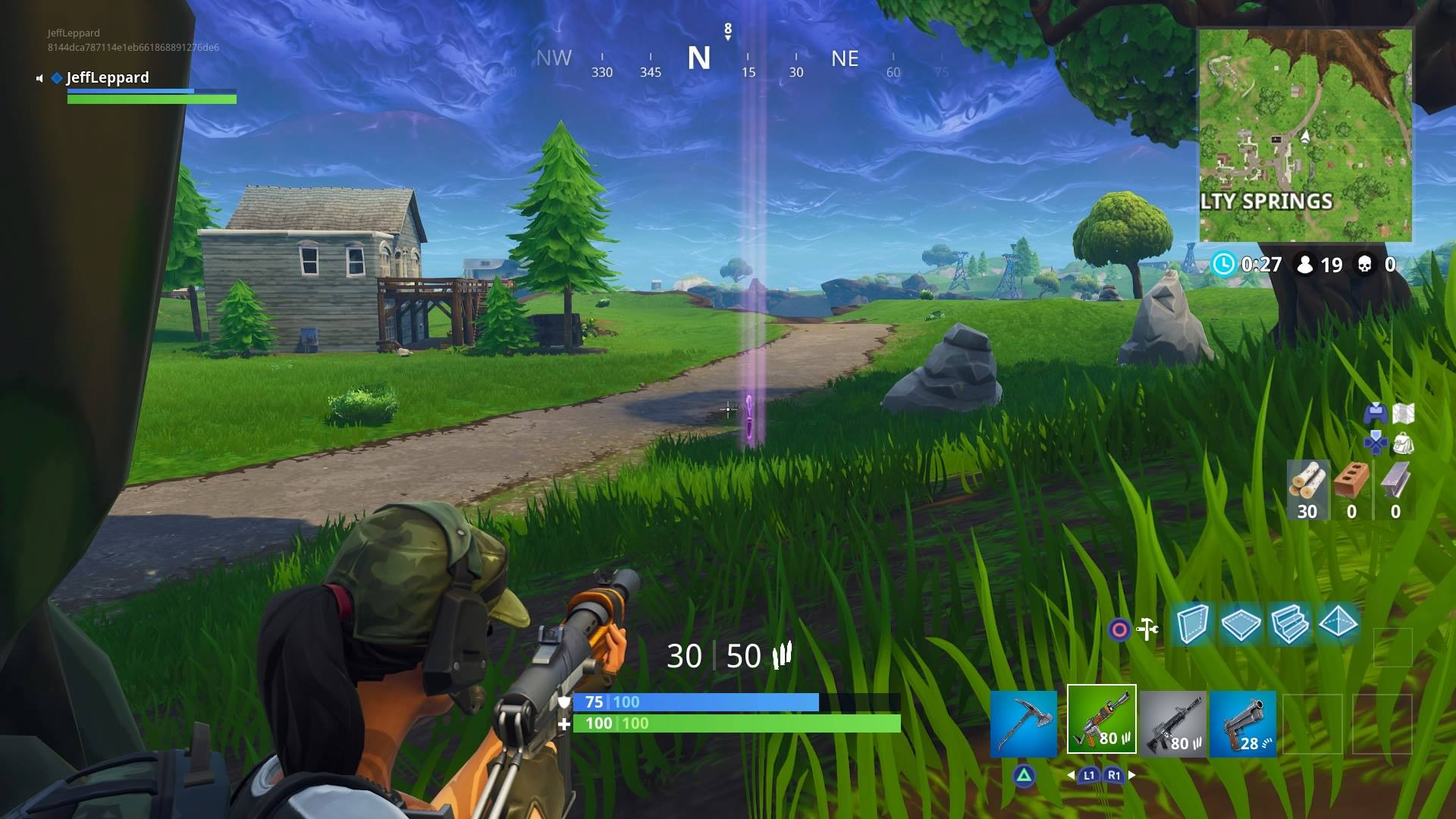 Fortnite How To Visit The Center Of Different Storm Circles In A