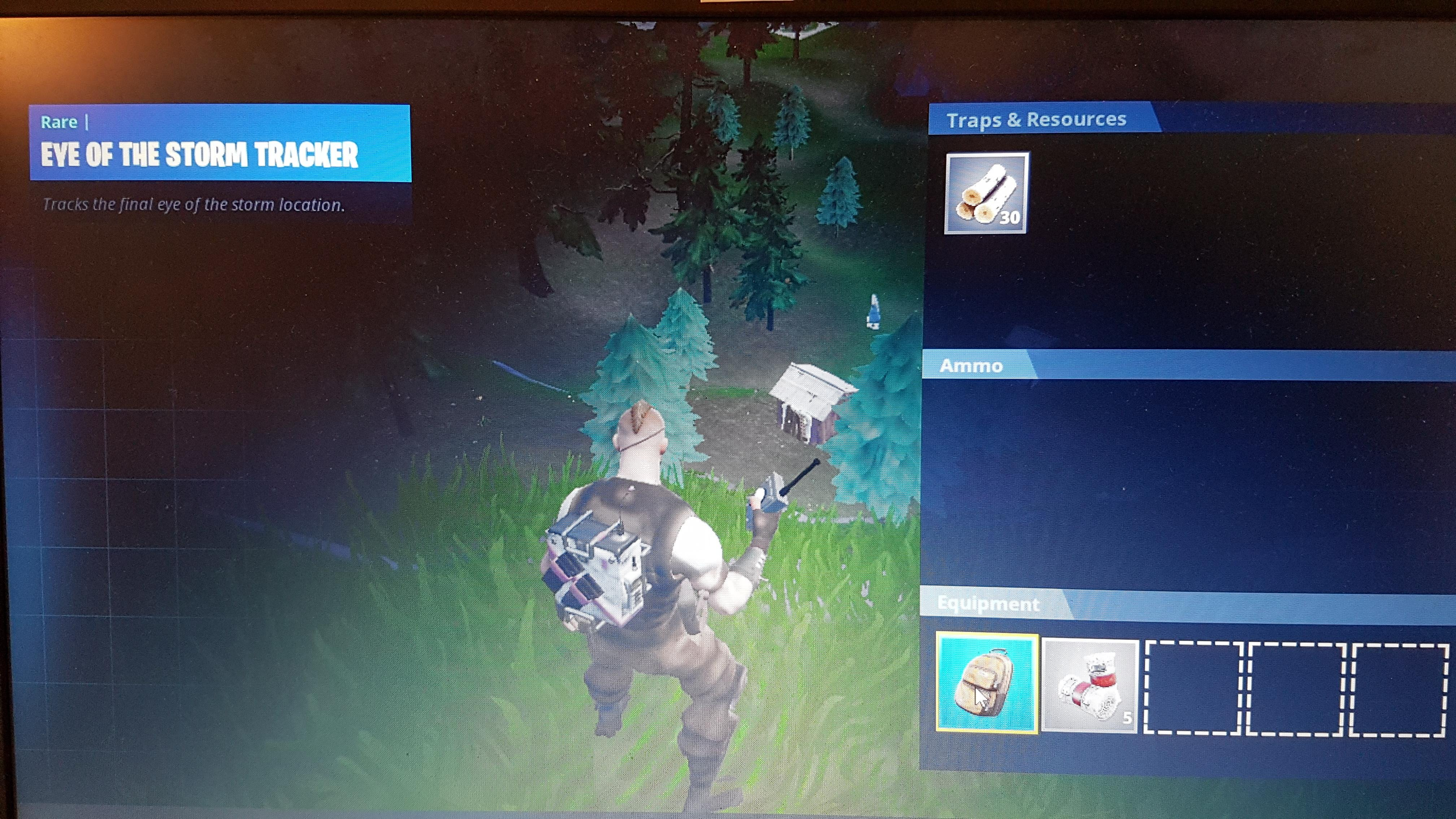 Epic accidentally added Eye of the Storm Tracker backpack to