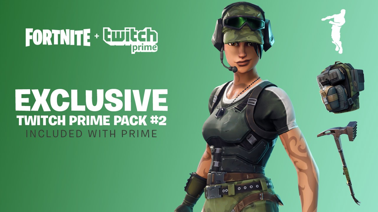 Fortnite's Twitch Prime Pack 2 Skins & How to Get Them