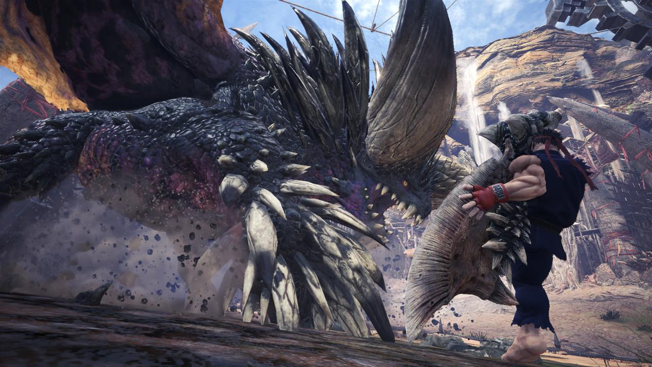 Monster Hunter World: how to get Ryu's high rank Street