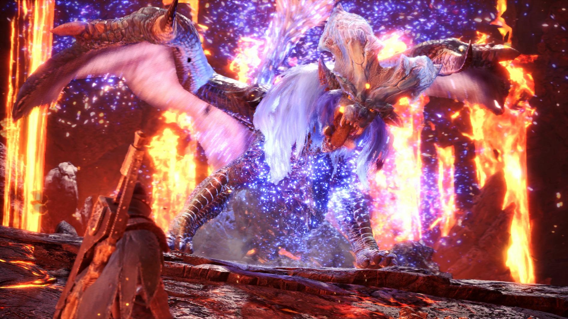 Fight Three Elder Dragons In Monster Hunter World S Lunastra Event