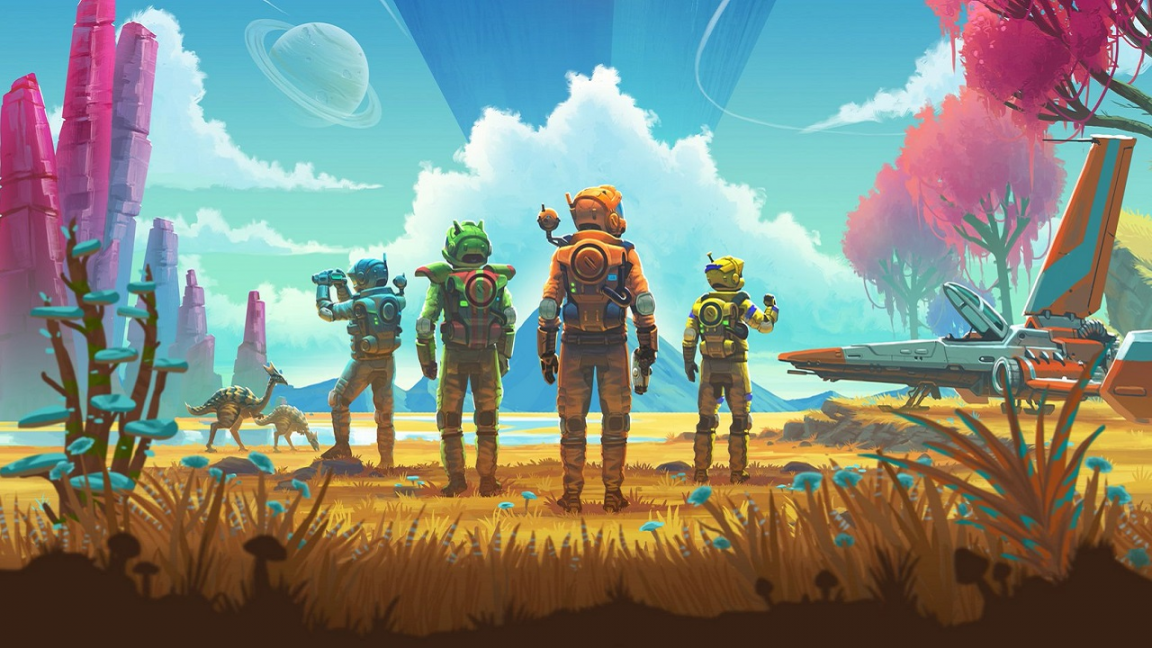 No Man's Sky NEXT is double the size of the original game - all the