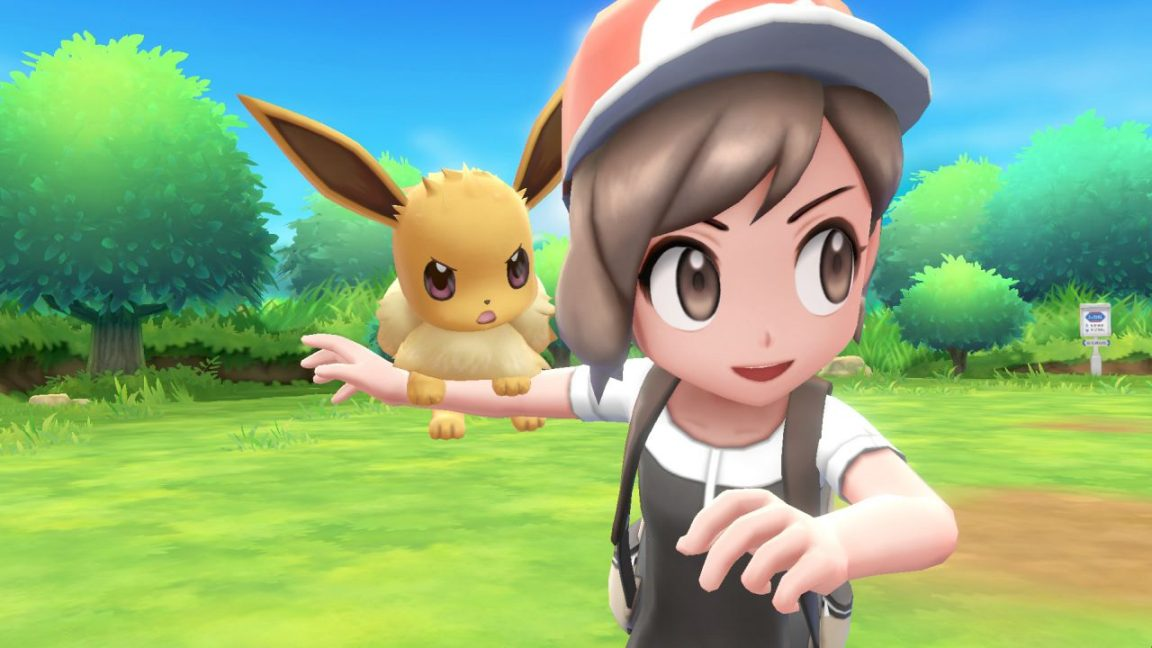 Pokemon Let's Go Pikachu and Eevee