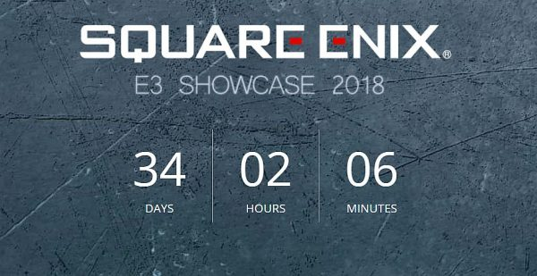 Square Enix E3 2018 Presentation Takes Monday, June 11th