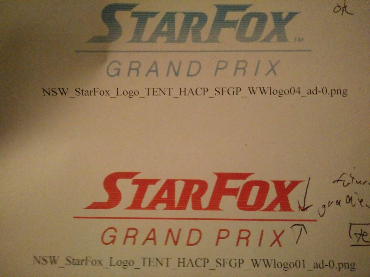 Star Fox racing game rumoured