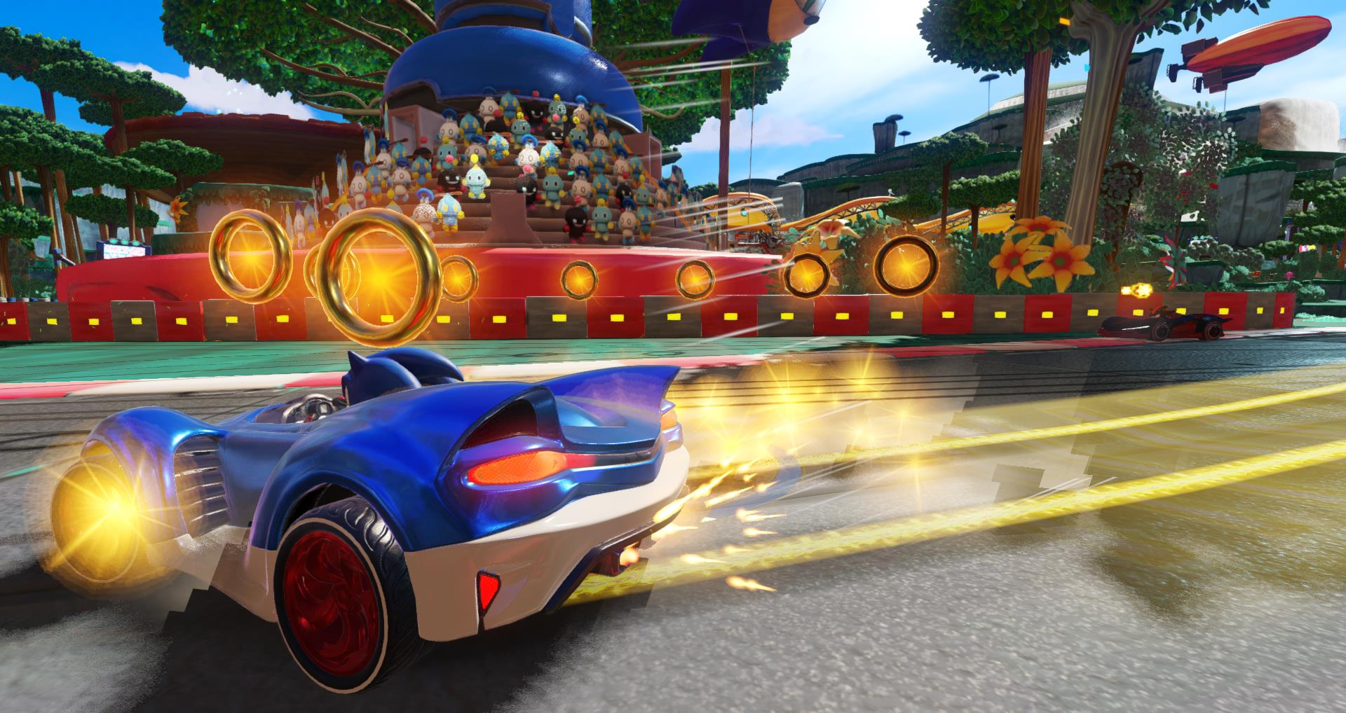 Team Sonic Racing leaked by Walmart, first details and screenshots
