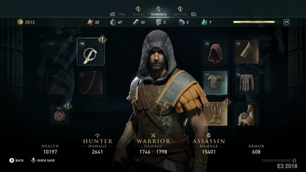 Assassin S Creed Odyssey S Leaked Screenshots Look Greek To Me Vg247